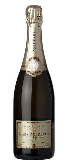 """Louis Roederer """"Brut Premier"""" Champagne (This was wonderful on New Year's)"""