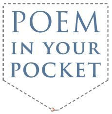 April 26th - Poem in Your Pocket Day - another fun thing you could do, @Amy Yam