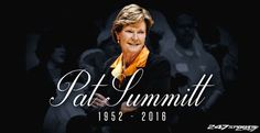 Legendary Tennessee Lady Vols basketball coach Pat Summitt dies at 64