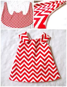 Wrap-around dress or skirt for toddler {Sawdust and Embryos}