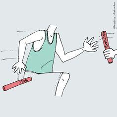 Rastros Ilustrados: El relevo/The relay
