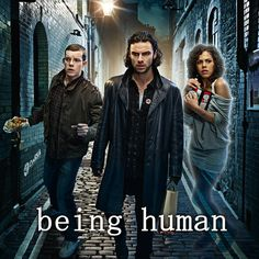 Being human - BBC version-american version stinks.As always BBC version original.a werewolf, a vampire and a ghost move in together Humans Season 2, Movies Showing, Movies And Tv Shows, V Drama, Being Human Bbc, Humans Series, Vampires, Uk Tv Shows, Aiden Turner