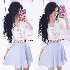 «Yay or Nay??? Credit @kimberlyx3you  #dresses__up»