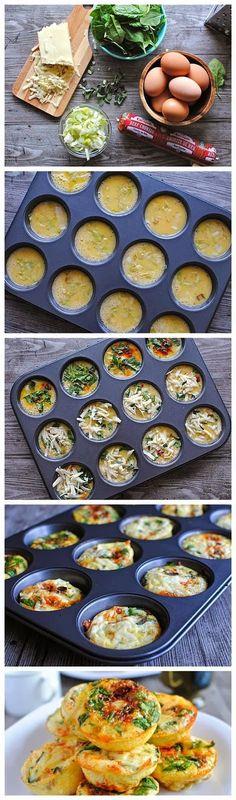 Yummy Recipes: Mini Frittata Brunch Bar recipe