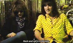 Jon Bon Jovi and Richie Sambora