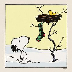 It's Christmas! ❤️ Snoopy & Woodstock
