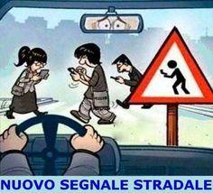 nuovo segnale stradale!