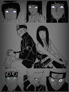 Eyes of Naruto&Hinata Anime Naruto, Naruto Comic, Naruto Shippuden Sasuke, Hinata Hyuga, Naruto Art, Boruto, Manga Anime, Narusaku, Naruto Family