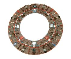 Custom Mosaic Mirrors in Bead Glass and by ReTainReMakeReNew