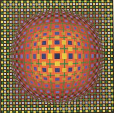 Victor Vasarely MIMA-SOL 2 1962-1979 Omer...