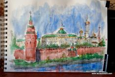LAURA CLIMENT, PAINTER Diary Ideas, Quick Sketch, Moscow, Watercolor, Blog, Painting, Pen And Wash, Watercolor Painting, Watercolour