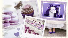 Purple and white: an inspired wedding. My white and purple wedding: could it be?