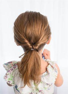 5 fast, easy, cute hairstyles for girls | Kid, Half braided ...