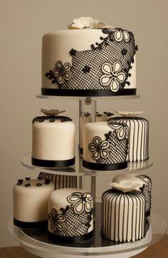 lace mini cakes | que você achou? Espero ter ajudado você a se inspirar para ...