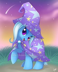 My Little Pony - Trixie - Artwork Print