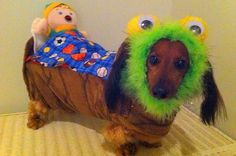 Monster under the bed costume