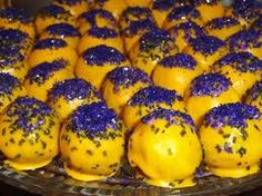 LSU cake balls. 49ers for the playoffs! ;)
