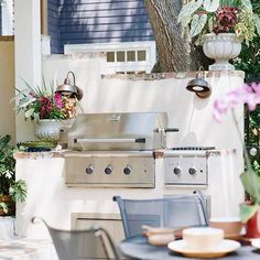 180 Pinterest Viral Outdoor Kitchen Designs and Tips - Cozy Home 101 Outdoor Hanging Lights, Outdoor Chandelier, Patio Lighting, Outdoor Decor, Task Lighting, Lighting Ideas, Rustic Outdoor, Outdoor Ideas, Fresco