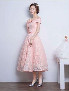 Off Shoulder Vintage Style Lace Dress