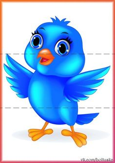 Blue bird cartoon clip art Images on a transparent background Cartoon Cartoon, Cartoon Birds, Cartoon Images, Vogel Clipart, Bird Clipart, Cute Clipart, Flower Clipart, Bird Pictures, Cute Pictures