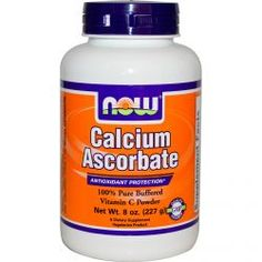 Now Foods, Calcium Ascorbate, 100% Pure Buffered Vitamin C Powder, 8 Oz (227 G) , Diet Suplements 蛇