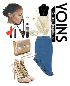 """Untitled #35"" by koodita ❤ liked on Polyvore featuring Maybelline, yoins and yoinscollection"