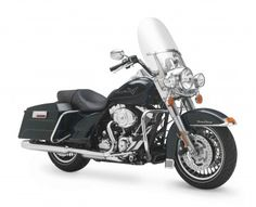 Harley Davidson Road King motorcycle was introduced in 1994, it didn't take long for it to obtain iconic status.