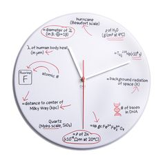 Science Geek Clock....I must have this for my classroom!