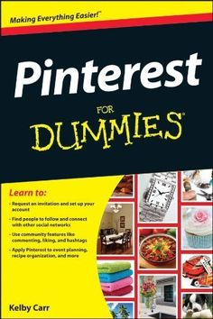 Enter to win a Pintrest from Dummies book at LBandJ! This Is A Book, Find People, Pinterest Marketing, So Little Time, Just In Case, Helpful Hints, Things I Want, Amazing Things, Fun Things