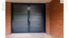 Novoferm Openslaande garagedeur