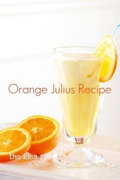 Orange Julius Recipe via Amy Huntley (The Idea Room)