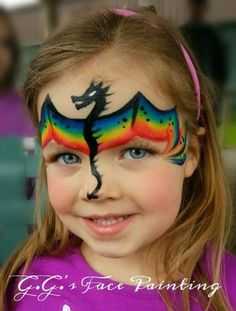Dragon face Dragon Face Painting, Face Painting Tips, Face Painting Designs, Painting For Kids, Body Painting, Painting Tutorials, Makeup Tutorials, Fox Face Paint, Homemade Face Paints