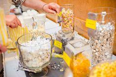 sweets bar at wedding Candy Bar Wedding, Diy Wedding, Wedding Events, Wedding Ideas, Weddings, Bar A Bonbon, Bar Displays, Wedding Cakes With Cupcakes, Candy Table