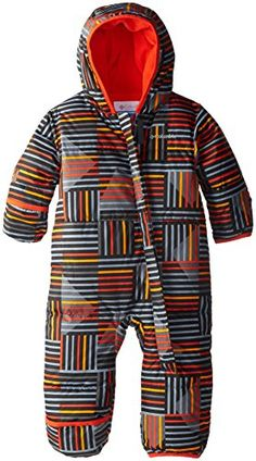 Columbia Baby Boys' Snuggly Bunny Bunting, State Orange P...