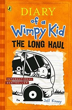 The Long Haul (Diary of a Wimpy Kid book 9) by Jeff Kinney http://www.amazon.co.uk/dp/0141354216/ref=cm_sw_r_pi_dp_P17Iub0MTXBGB