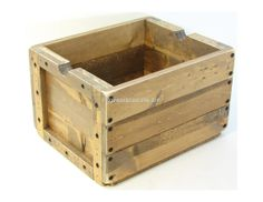 Wood Crate Wooden Box Furniture Storage Photo by BridgewoodPlace, $110.00