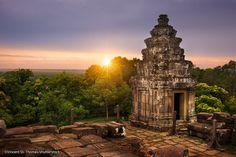 Phnom Bakheng, Hill Top Temple, Cambodia