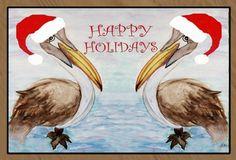 Santa Christmas Pelicans Holiday Floor Mat Medium by xmarc, http://www.amazon.com/dp/B009OM8MP0/ref=cm_sw_r_pi_dp_Mdbisb03J8130