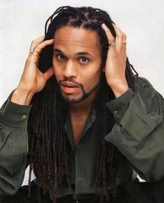 African American Black Men With Locs, Locks, Dreadlocks