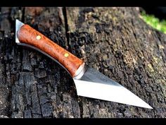 Knife making - making a Japanese Kiridashi utility knife Messer Diy, Trench Knife, Military Knives, Fancy Kitchens, Best Pocket Knife, Hard Metal, Cool Knives, Utility Knife, Knife Sharpening