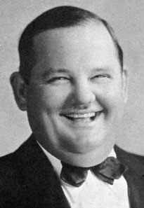 Oliver Hardy - Famous for pairing with Stan Laurel in comedy routines and films. He died on Aug 7, 1957 at the age of 65.