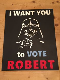 Student Council Poster Star Wars
