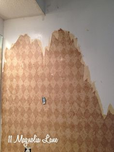 How to Easily Remove Wallpaper (Tips to Make it as Painless as Possible!) – 11 Magnolia Lane