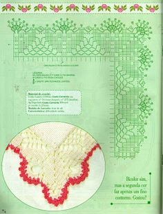 Family and Art: cross stitch and croche