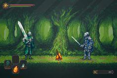 Dark Souls Fan Game Concept Screenshot by AlainGalvan