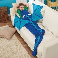Herrschners® Dragon Blanket Crochet Afghan Kit Was: $34.99                     Now: $29.99