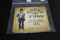 2011 Beermat Three Tuns (Shropshire) Cat 008 (06/14 1G57)