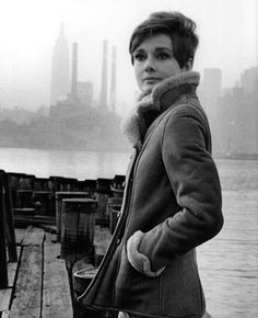 Audrey Hepburn photographed by Howell Conant before the filming of Wait Until Dark, 1967.