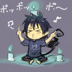 Okumura Rin - Ao no Exorcist - Image - Zerochan Anime Image Board Ao No Exorcist, Blue Exorcist Anime, Awesome Anime, Anime Love, Anime Guys, Rin Okumura, Anime Chibi, Manga Anime, Anime Art
