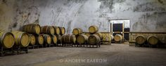 Sunday Wine Shot - the impressive Sintica Winery Barrel Room hewn out of rock. One of Bulgaria's multi-award winning wineries.